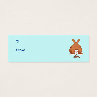 Bunny Butt Gift Tags
