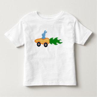 Bunny Carrot Car T-shirt