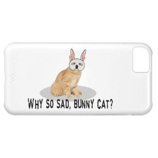 Bunny Cat Sad iPhone 5C Case