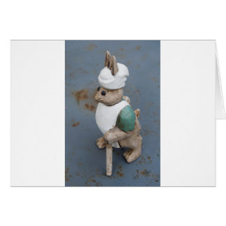 Bunny chef card