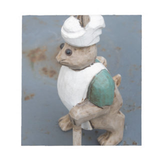 Bunny chef notepad