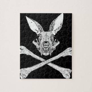 bunny cross bones puzzles