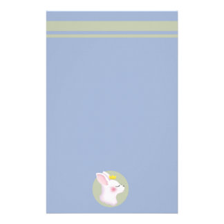 Bunny Crown Stationery