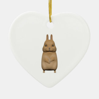 Bunny cute and lovely christmas ornament