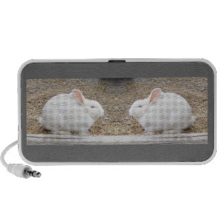 Bunny Doodle iPhone Speaker