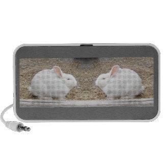 Bunny Doodle iPhone Speakers