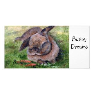 Bunny Dreams Photo Card