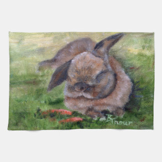 Bunny Dreams Tea Towel