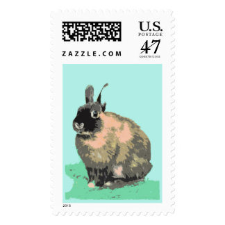 Bunny Easter Stamp