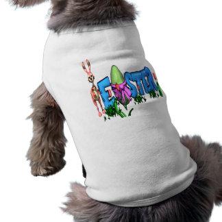 bunny.easteregg sleeveless dog shirt