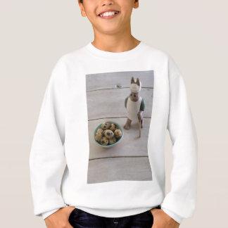 Bunny & eggs in a bowl sweatshirt