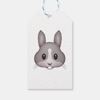 Bunny - Emoji Gift Tags