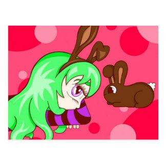 Bunny Envy Postcard