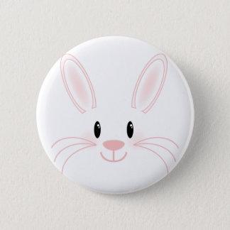 Bunny Face 6 Cm Round Badge