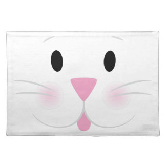 Bunny Face Placemat