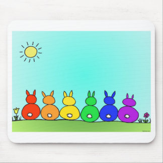 Bunny Family Mousepad