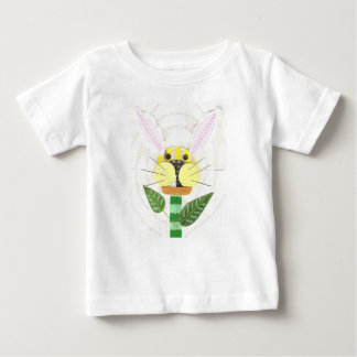 Bunny Flower Baby T-Shirt