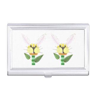 Bunny Flower Business Card Holder