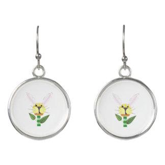 Bunny Flower Earrings