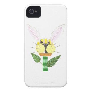 Bunny Flower I-Phone 4 Case