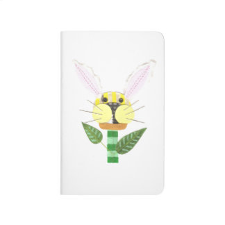 Bunny Flower Pocket Journal