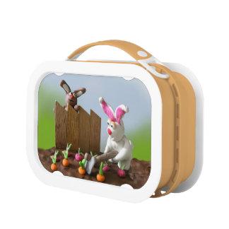 Bunny garden Lunchbox