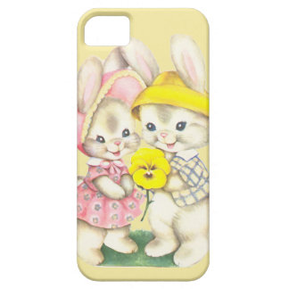 Bunny Girl+Boy iPhone 5 Cover