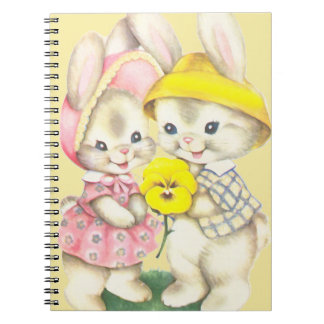 Bunny Girl+Boy Notebooks