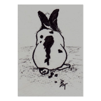 Bunny Go Oops Art Card Pack Of Chubby Business Cards