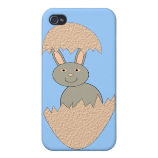 Bunny Hatching from Egg Weird 4 C iPhone 4/4S Case