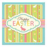 Bunny Hop Invitation Square