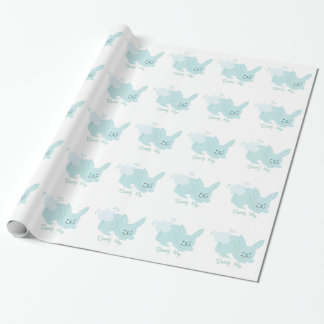 Bunny Hop Wrapping Paper