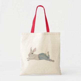 Bunny in Jeans Tote Bag