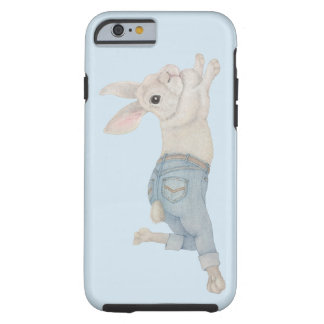 Bunny in Jeans Tough iPhone 6 Case