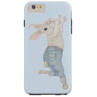 Bunny in Jeans Tough iPhone 6 Plus Case