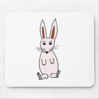 Bunny in Slippers Mouse Mat