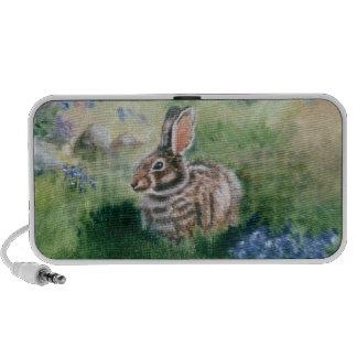 Bunny In the Meadow  Travel Speaker