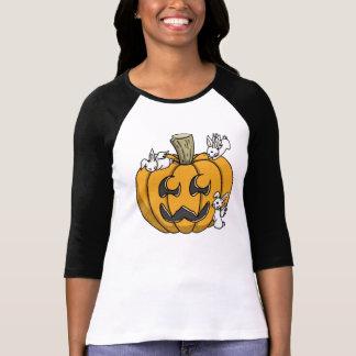Bunny infested pumpkin shirt