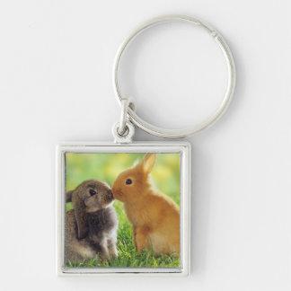 Bunny Kiss Key Ring