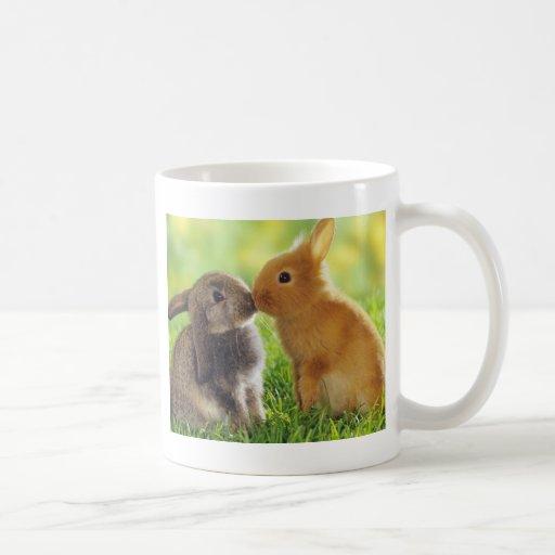 Bunny Kiss Coffee Mug