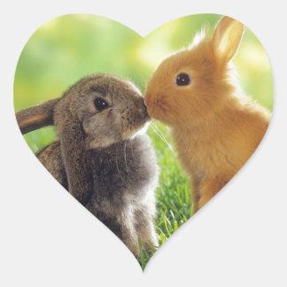 Bunny Kiss Stickers