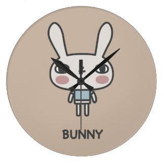 Bunny Large Clock
