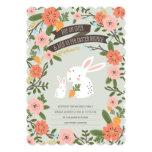 Bunny Love Easter Brunch Invite 13 Cm X 18 Cm Invitation Card