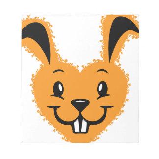 Bunny love notepad