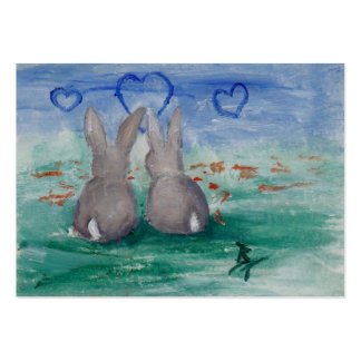Bunny Lovin aceo Business Cards