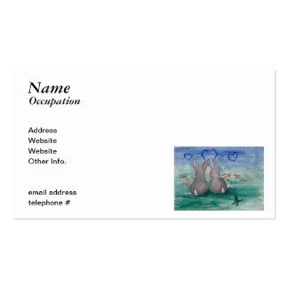 Bunny Lovin aceo Business Card
