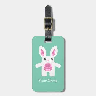 Bunny Luggage Tag