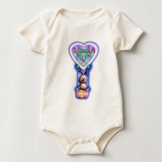 Bunny Mommy One-Piece Bodysuit