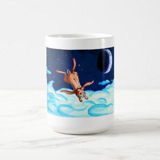 Bunny Night Flight Mug