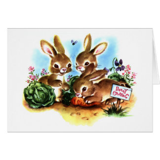Bunny Patch Greeting Card